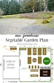 new farmhouse vegetable garden plan