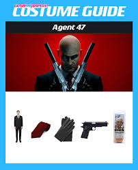 agent 47 hitman costume diy guide for cosplay