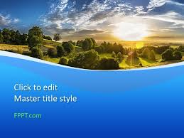 Free Country Powerpoint Template Free Powerpoint Templates