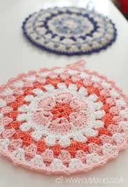 Free Crochet Potholder Patterns Cool African Flower Potholders Free Crochet Pattern Link Crochet For