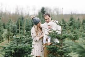 The Higgins Family Session  Maryland Photographer U2014 Living Christmas Tree Farm Family Photos