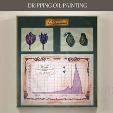 Tulip Mania Chart Top Artist Hand Painted Meaningful Tulip Mania Oil Painting