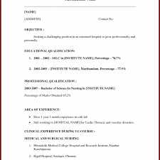Resume For Highschool Students With No Experience Chicagoredstreak Com