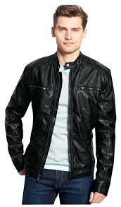 mens faux leather jacket motorcycle jacket zara mens faux leather er jacket