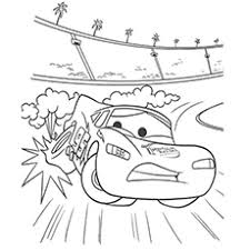 lightning coloring pages. Plain Coloring Coloring Pages Of Drifting Off The Track McQueen Inside Lightning H
