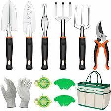 12 pieces gardening hand tool kit
