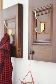 Repurposed Coat Rack Repurposed Cabinet Doors DIY Coat Rack 50