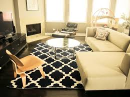 delightful accessories for home decoration using black and white rugs entrancing living room decoration using