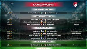 Süper Lig 1-3. hafta programı açıklandı - Süper Lig Haberleri TFF