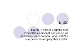 6 02 Create A Career Portfolio That Exemplifies Personal Acquisition