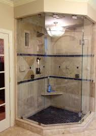 custom frameless neo angle steam shower enclosure using 3 8 starphire glass raleigh nc