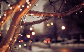 Christmas Lights Aesthetic Fall Lights Laptop Background