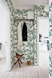 Room of the Week :: A Whimsical Wallpapered Hallway (coco kelley)