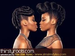 african american natural hair updo hairstyles