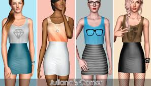 Juliana Sims: Festival - Mini Dress | Clothes for women, Festival outfits,  Sims 3