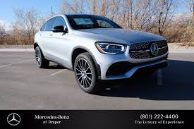 Explore the glc 300 4matic coupe, including specifications, key features, packages and more. New Mercedes Benz Glc In Draper Mercedes Benz Of Draper