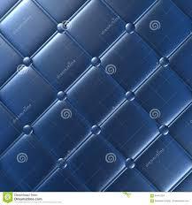 Meubilair Van Het Luxe Het Blauwe Leer Behang Illustratie Stock