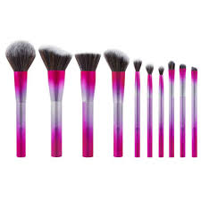 10 piece brush set royal affair brush set bh cosmetics