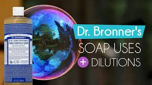 Sal Suds Dilution Chart Dr Bronners Soap Uses Dilutions T1d Blog Natural Living