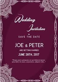 Wedding Invitation Templates With Photo Wedding Invitation Layout You Get Ideas From This Site