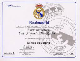 Plantillas Reconocimientos Deportivos De Real Madrid