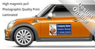 Magnetic Sign 600mm X 250mm Design Buy Online Fast Turnaround