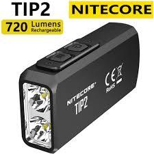 <b>100</b>% <b>Original</b> Mini Light <b>NITECORE</b> TIP2 CREE XP G3 S3 720 ...