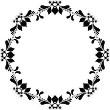 black frame png. Fine Png Black Floral Border PNG Image Background With Frame Png