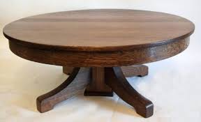 round pedestal coffee table excellent coffee table antique tiger oak round pedestal coffee table with regard