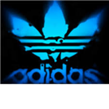Adidas-Logo-Blue-Wallpaper - Roblox