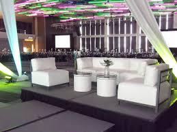 Create Vip Seating Lounge Furniture Staging Lighting