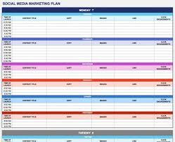 Marketing Plan Ppt Example 002 Screen Shot At Am Social Media Marketing Plan Template Ulyssesroom
