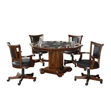 Game Table And Chairs Set Imperial 2 In 1 Game Table And With 4 Chairs Set