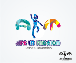 Design In Motion Dance Playful Modern Performing Art Logo Design For Art In