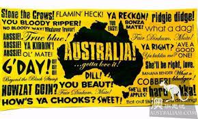perfect australian slang summary to