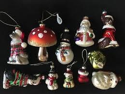 Glasschmuck Weihnachten Christbaumschmuck Div Figuren Glas