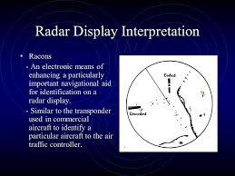 Racon Chart Symbol Navigation Nau 102 Radar Navigation Radar Display