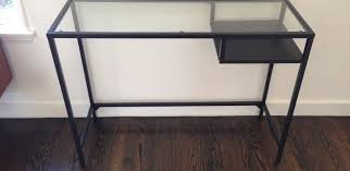 full size of desk white wicker desk with glass top why having a pictures mesmerizing