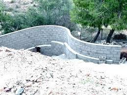 cinder block retaining wall modern retaining wall cement block retaining wall ideas block wall design modern