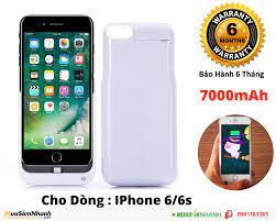 Ốp Kiêm Pin Sạc Dự Phòng Iphone 6/6s 7000mAh JLW-6GA-2, Mới 100%, Giá:  299.000 - 0901181365, Cần bán/Dịch vụ , id-740d0000