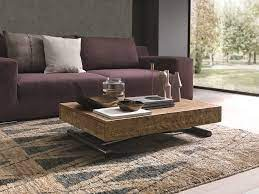 height adjustable coffee table with gas