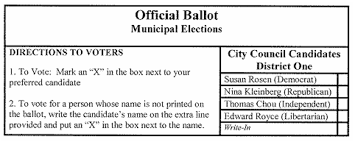 How To Make Ballots On Microsoft Word Plurality Majority Systems Fairvote