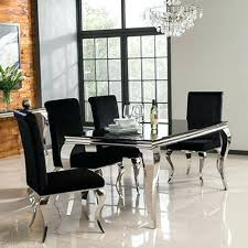 glass dining table and chairs sets oak salongallery dining room dining tables and chairs dining table