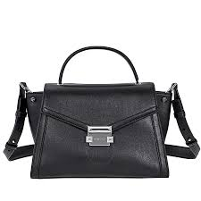 michael kors whitney medium leather satchel black item no 30t8sxis2l 001