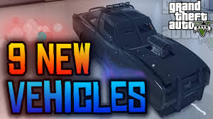 gta new car releaseGTA 5 Online  9 NEW Vehicles Coming to GTA 5 PS4  Xbox One
