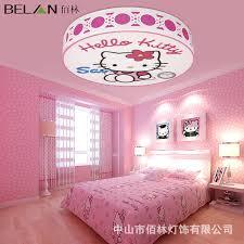 girl bedroom lighting. modren bedroom bai lin creative childrenu0027s room lamp lights kitty cat cartoon girl bedroom  led ceiling with girl lighting j