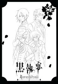 anime coloring apps best pages images on books black butler