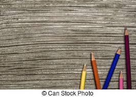 school desk background. Interesting Desk Wooden School Desk And Pencils In Background
