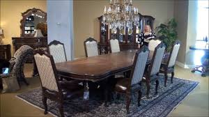 Victoria Palace Rectangular Double Pedestal Dining Room Table By Michael  Amini | Home Gallery Stores   YouTube