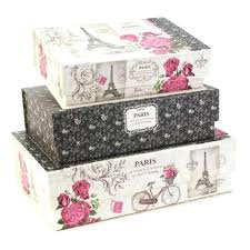 Decorative Cardboard Storage Boxes With Lids Decorative cardboard storage boxes for closets extra large bins 11